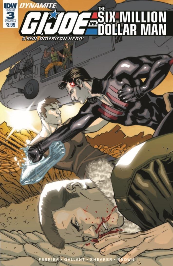 GIJoeRAH_6million_03-pr-1 ComicList Previews: G.I. JOE A REAL AMERICAN HERO VS THE SIX MILLION DOLLAR MAN #3