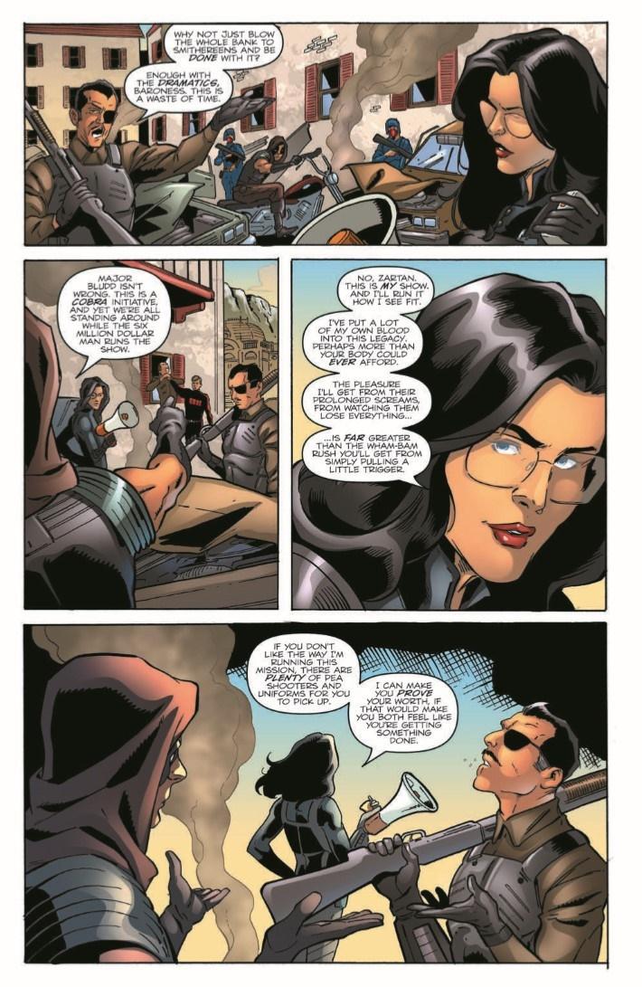 GIJoeRAH_6million_03-pr-4 ComicList Previews: G.I. JOE A REAL AMERICAN HERO VS THE SIX MILLION DOLLAR MAN #3