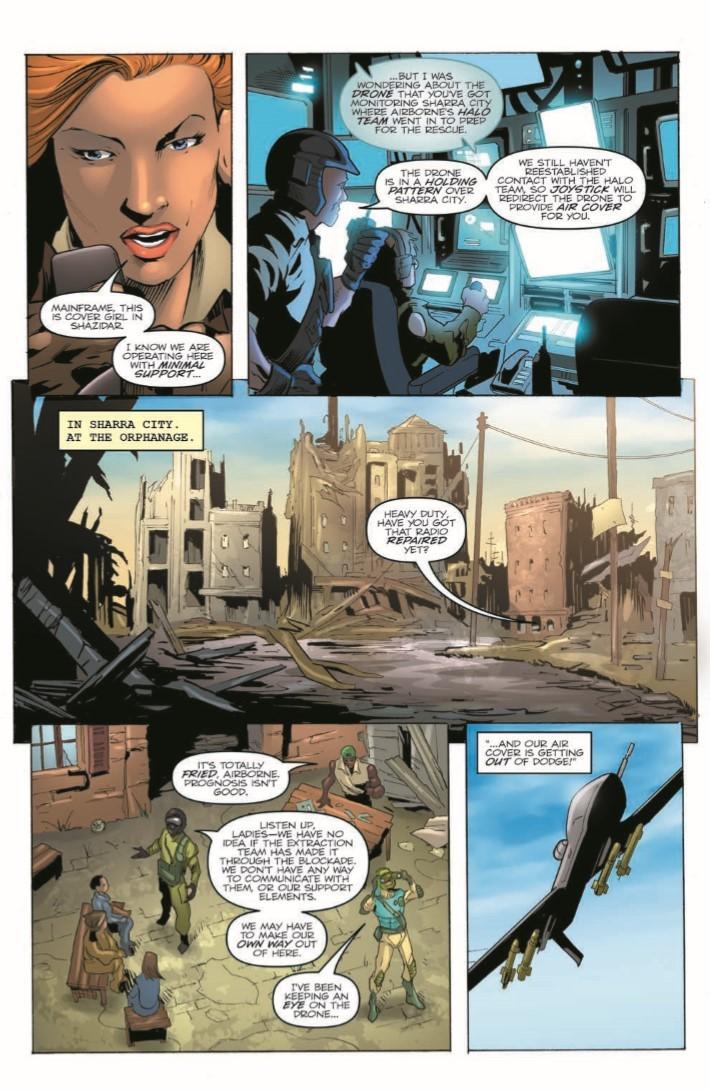 GIJoe_260-pr-7 ComicList Previews: G.I. JOE A REAL AMERICAN HERO #260