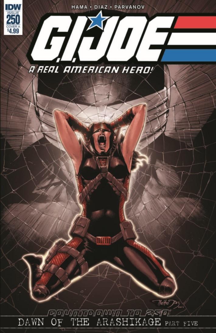 GIJoe_RAH_250-pr-1 ComicList Previews: G.I. JOE A REAL AMERICAN HERO #250