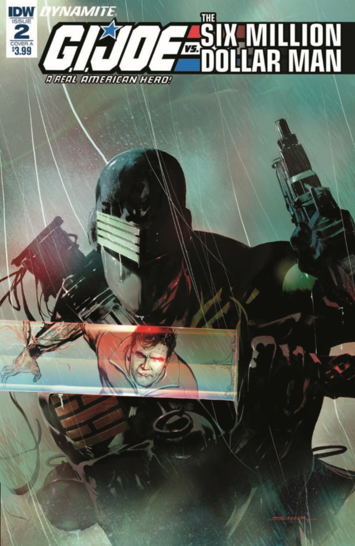 GIJoe_vs_6MilMan_02-pr-1 ComicList Previews: G.I. JOE A REAL AMERICAN HERO VS THE SIX MILLION DOLLAR MAN #2