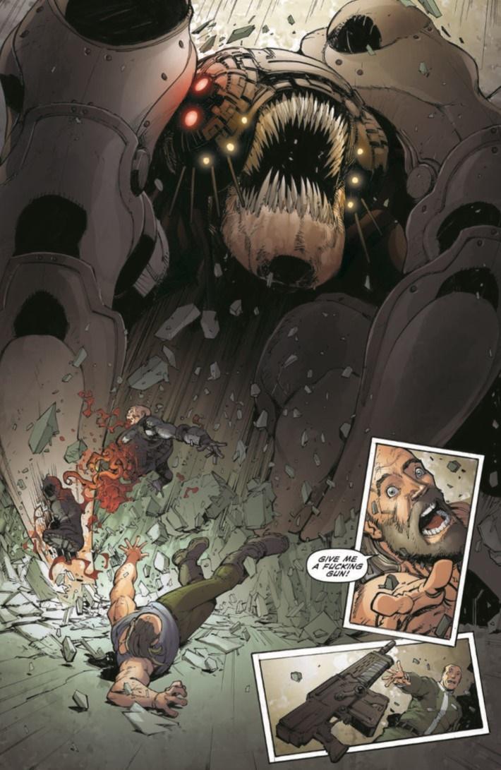 GearsOfWar_ROR_04-pr-6 ComicList Previews: GEARS OF WAR THE RISE OF RAAM #4