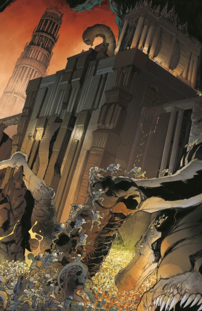 GearsOfWar_TheRiseOf_RAAM-pr-6 ComicList Previews: GEARS OF WAR THE RISE OF RAAM TP