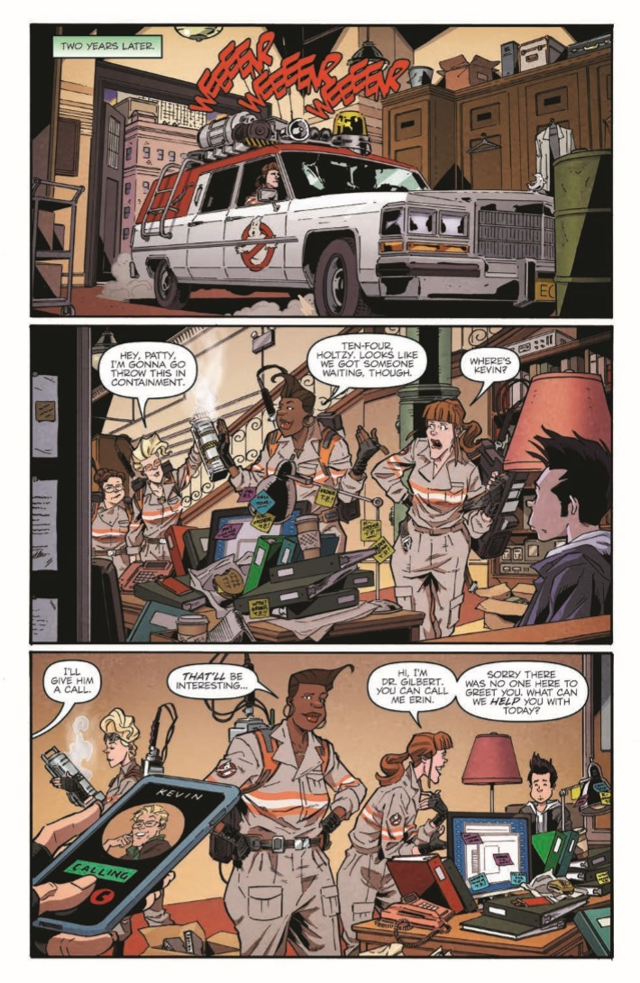 Ghostbusters_35th_Anniversary_Answer_The_Call-pr-5 ComicList Previews: GHOSTBUSTERS 35TH ANNIVERSARY ANSWER THE CALL GHOSTBUSTERS #1
