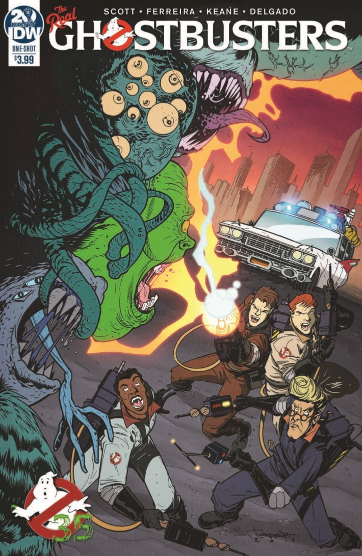 Ghostbusters_35th_Anniversary_Real-pr-1 ComicList Previews: GHOSTBUSTERS 35TH ANNIVERSARY REAL GHOSTBUSTERS #1