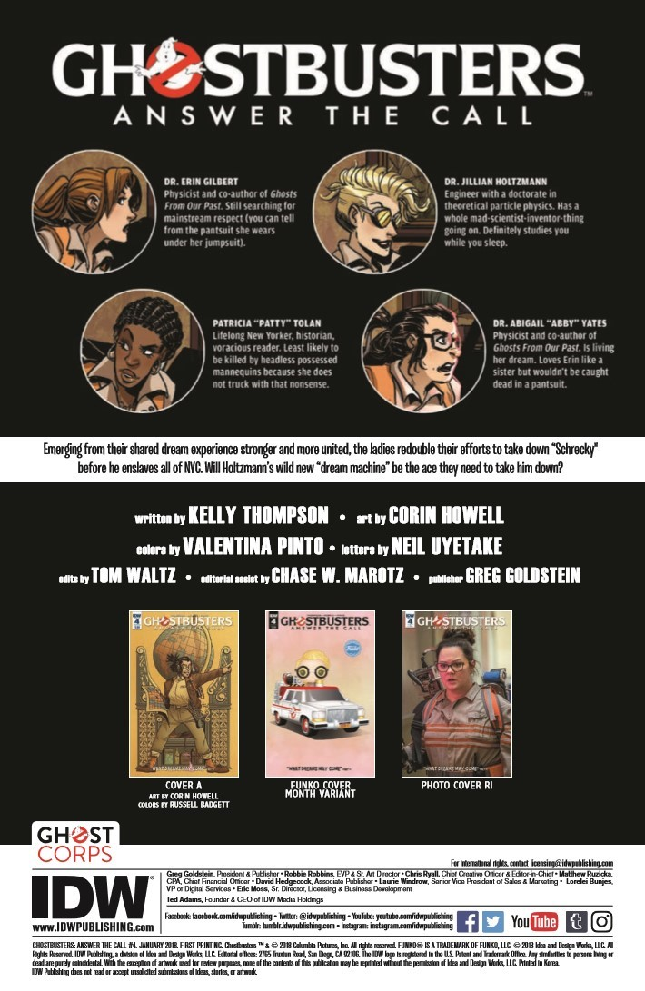 Ghostbusters_ATC_04-pr-2 ComicList Previews: GHOSTBUSTERS ANSWER THE CALL #4
