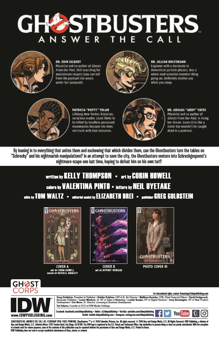 Ghostbusters_AnswerTheCall_05-pr-2 ComicList Previews: GHOSTBUSTERS ANSWER THE CALL #5