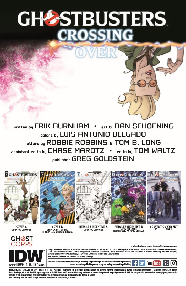 Ghostbusters_CrossingOver_01-pr-2 ComicList Previews: GHOSTBUSTERS CROSSING OVER #1