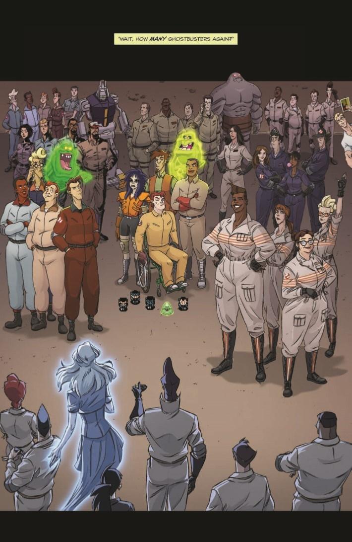 Ghostbusters_CrossingOver_03-pr-3 ComicList Previews: GHOSTBUSTERS CROSSING OVER #3
