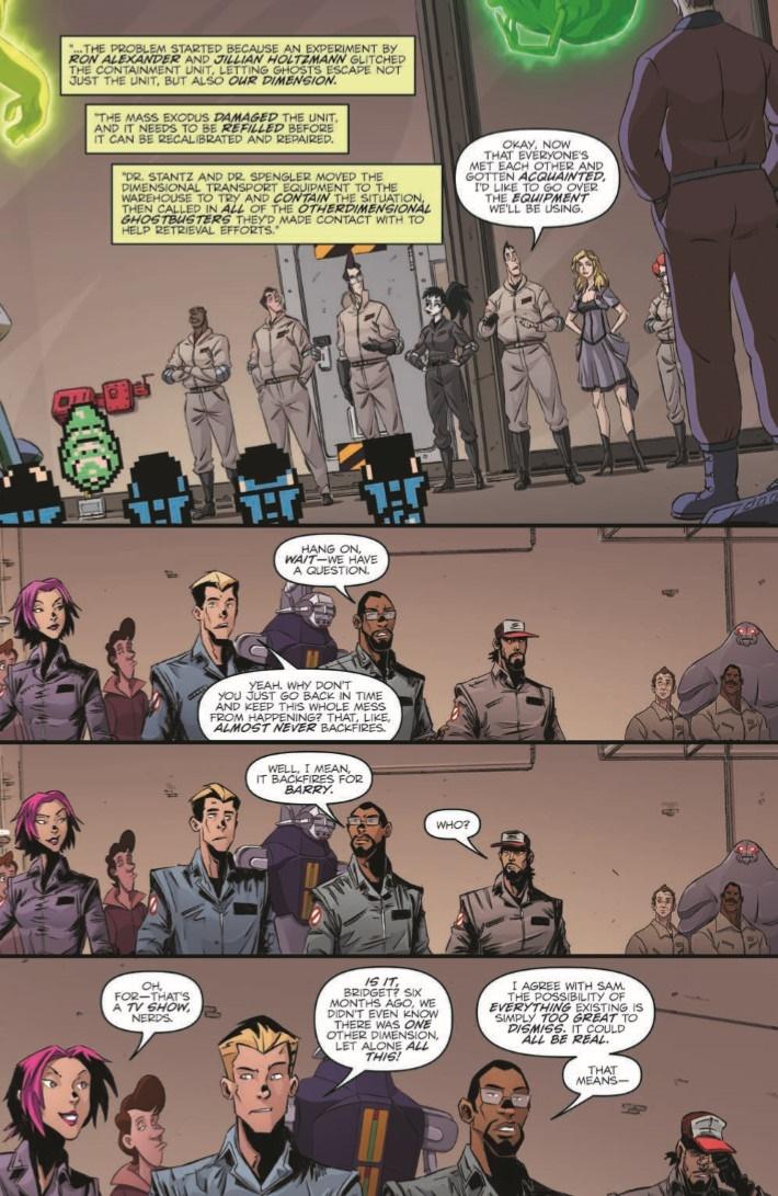 Ghostbusters_CrossingOver_03-pr-5 ComicList Previews: GHOSTBUSTERS CROSSING OVER #3