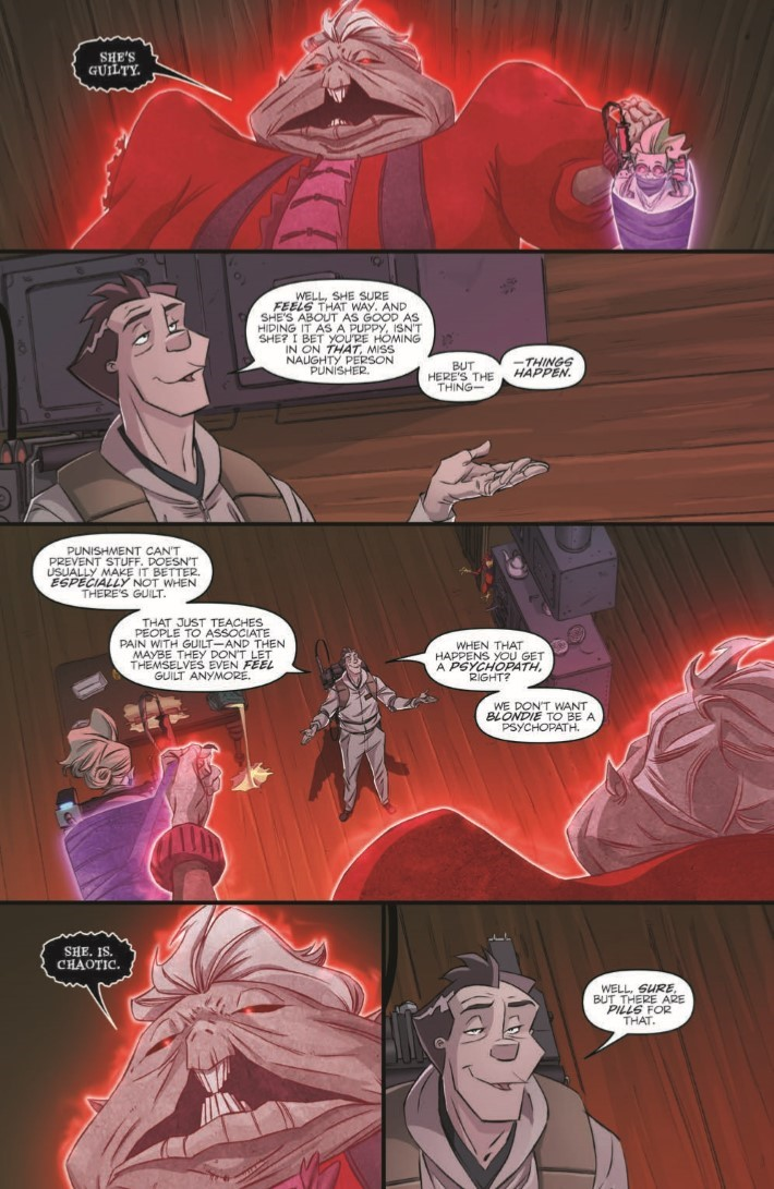 Ghostbusters_Crossing_Over_07-pr-3 ComicList Previews: GHOSTBUSTERS CROSSING OVER #7