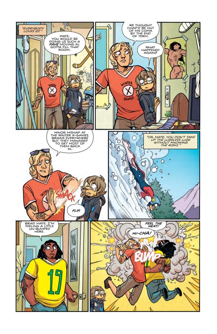 GiantDays_v9_SC_Press_16 ComicList Previews: GIANT DAYS VOLUME 9 TP