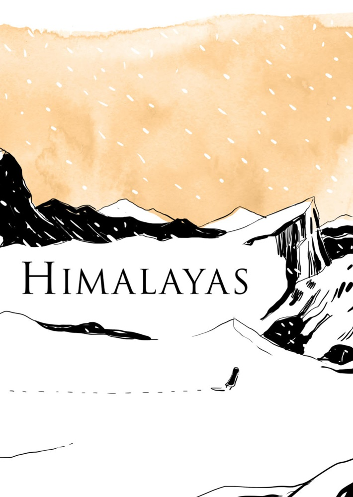 GirlHimalayas_SC_PRESS_11 ComicList Previews: A GIRL IN THE HIMALAYAS GN