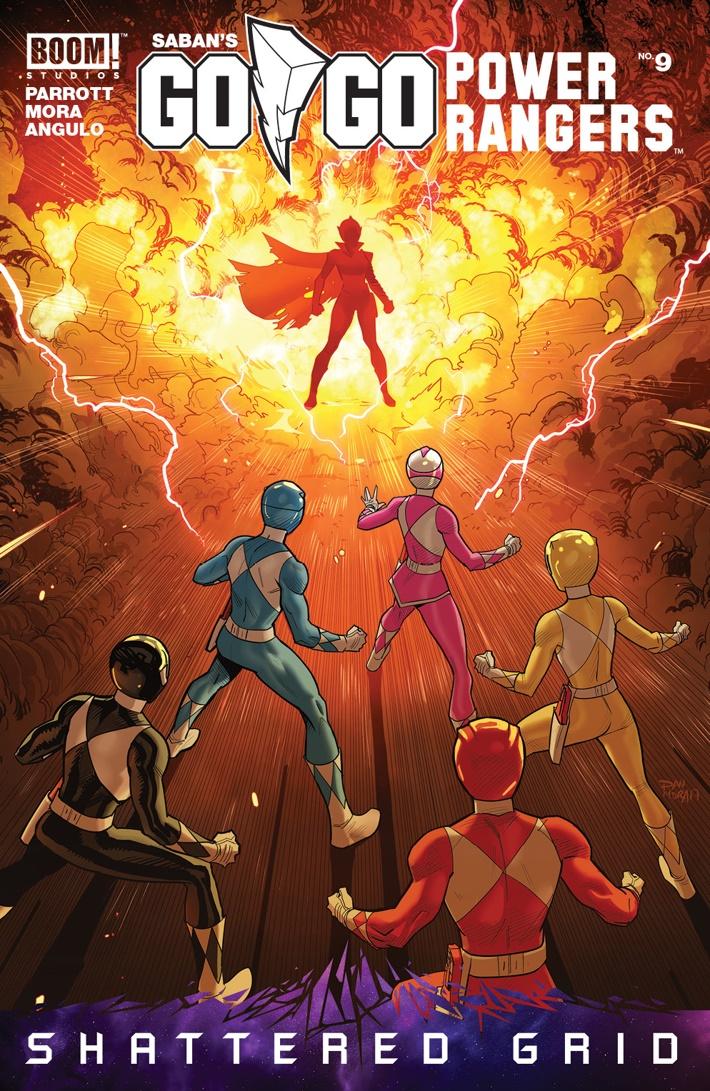 GoGoPowerRangers_009_A_Main ComicList Previews: SABAN'S GO GO POWER RANGERS #9