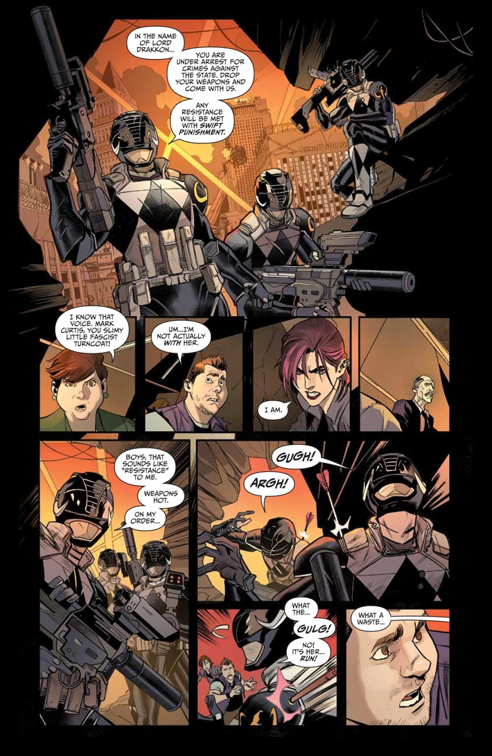 GoGoPowerRangers_009_PRESS_4 ComicList Previews: SABAN'S GO GO POWER RANGERS #9