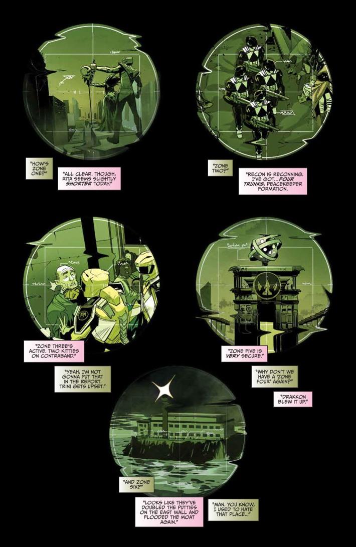 GoGoPowerRangers_010_PRESS_3 ComicList Previews: SABAN'S GO GO POWER RANGERS #10