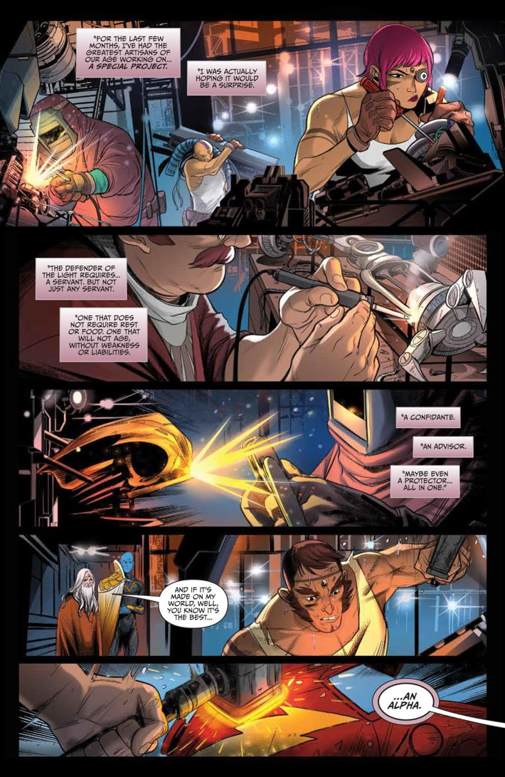 GoGoPowerRangers_018_PRESS_5 ComicList Previews: SABAN'S GO GO POWER RANGERS #18