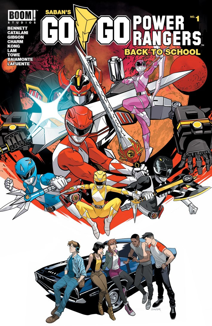 GoGoPowerRangers_BacktoSchool_001_A_Main ComicList Previews: SABAN'S GO GO POWER RANGERS BACK TO SCHOOL #1