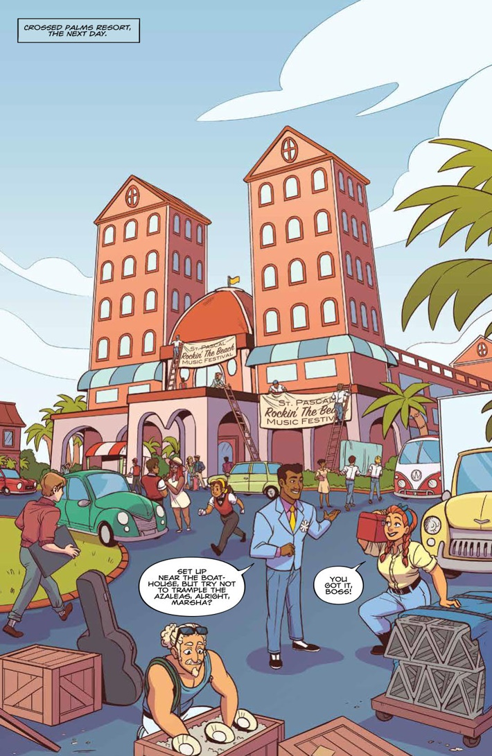 GoldieVance_v4_SC_PRESS_9 ComicList Previews: GOLDIE VANCE VOLUME 4 TP