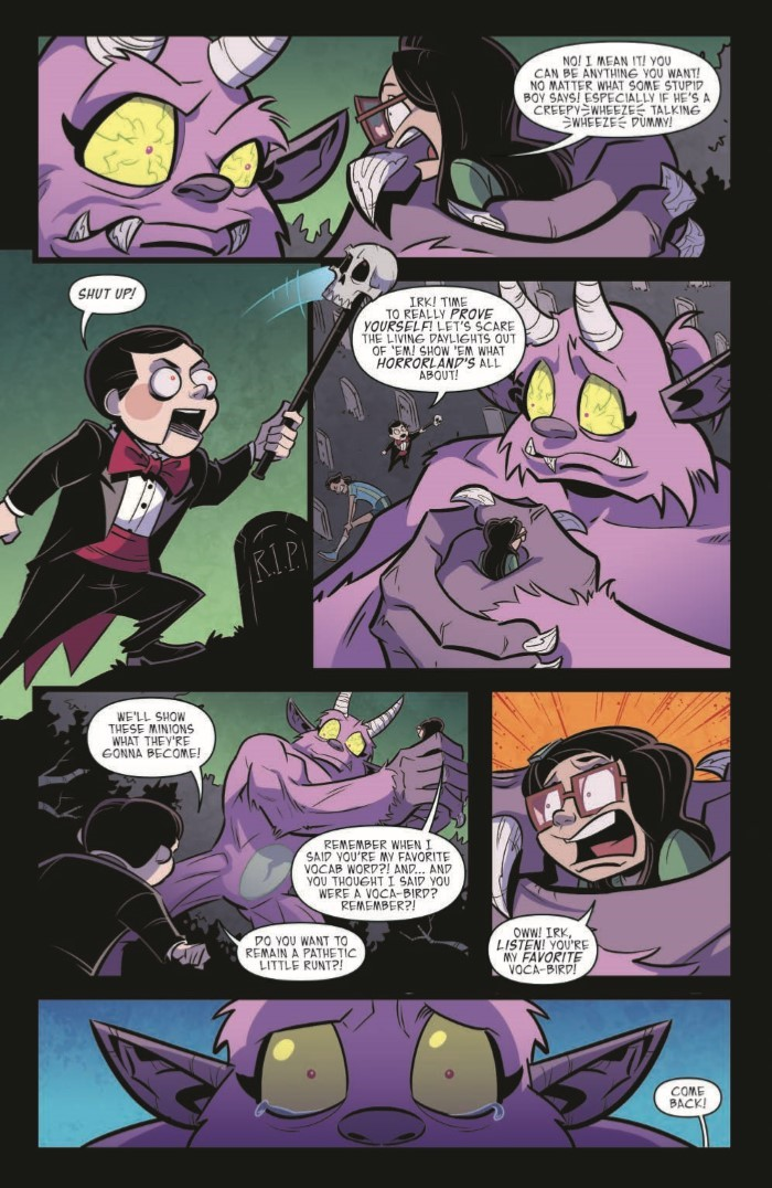 Goosebumps_MaM_03-pr-6 ComicList Previews: GOOSEBUMPS MONSTERS AT MIDNIGHT #3