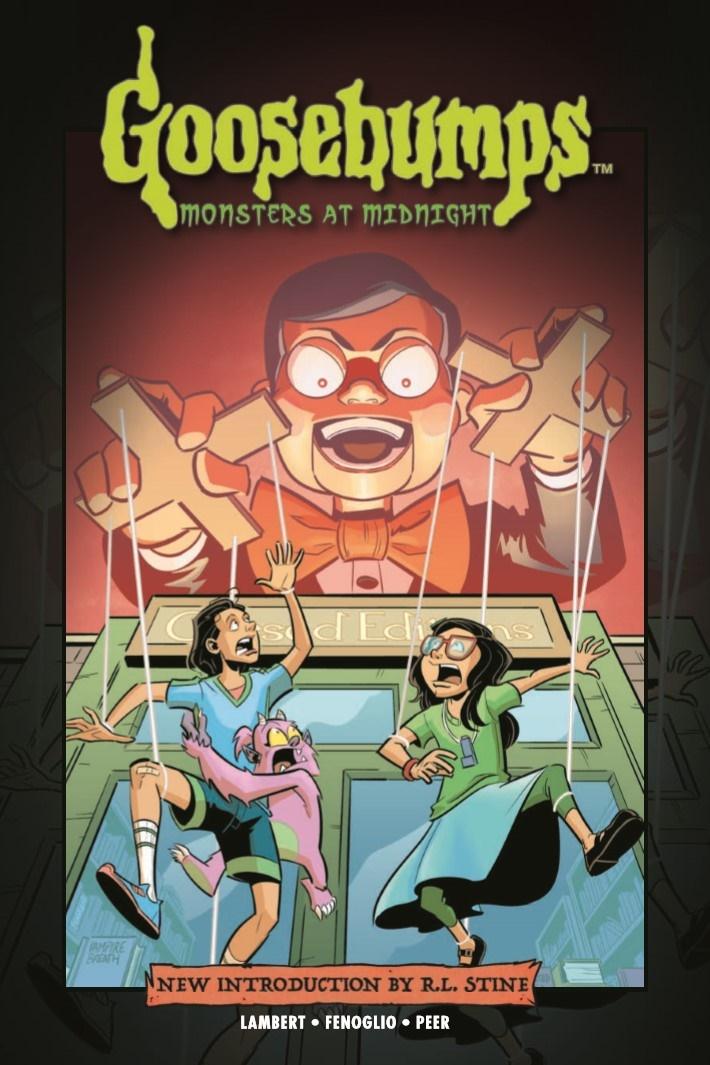 Goosebumps_MaM_TPB-pr-1 ComicList Previews: GOOSEBUMPS MONSTERS AT MIDNIGHT HC