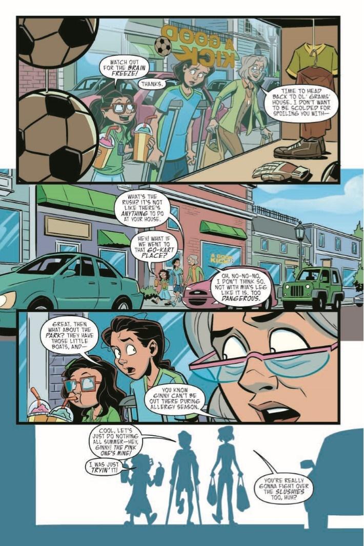 Goosebumps_MaM_TPB-pr-5 ComicList Previews: GOOSEBUMPS MONSTERS AT MIDNIGHT HC