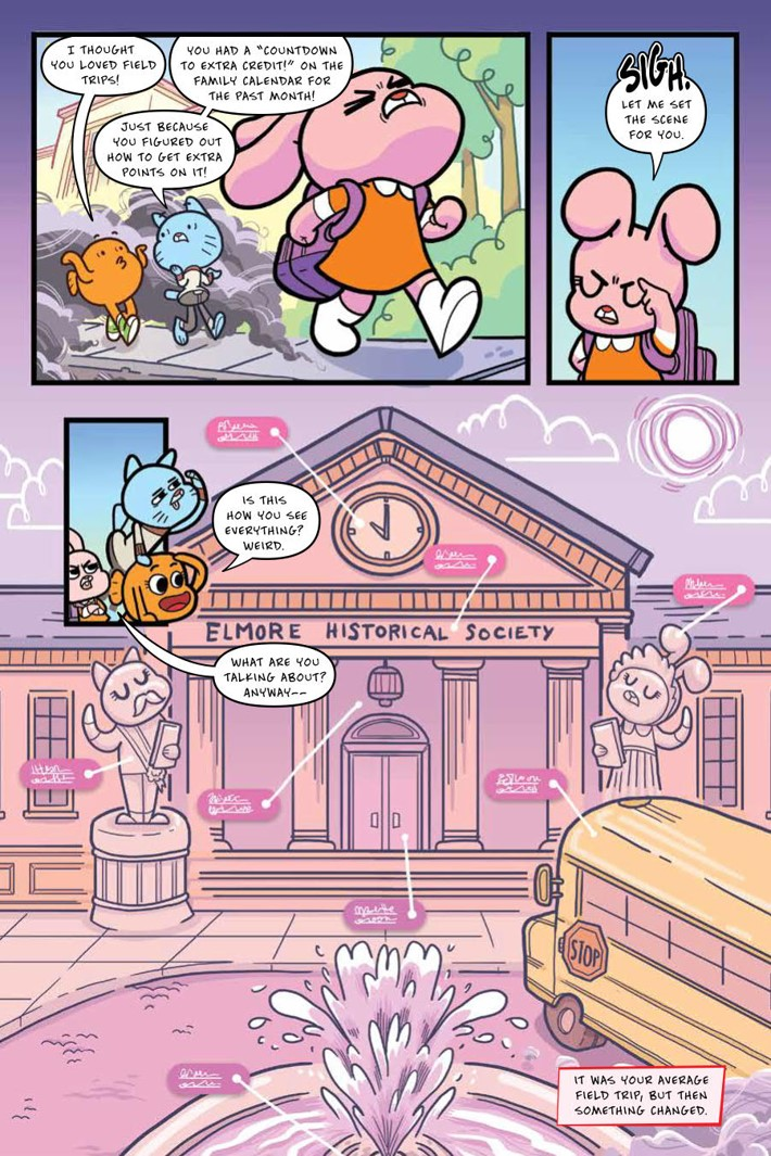 Gumball_OGN_v4_ScrimmageScramble_PRESS_12 ComicList Previews: THE AMAZING WORLD OF GUMBALL VOLUME 4 SCRIMMAGE SCRAMBLE GN