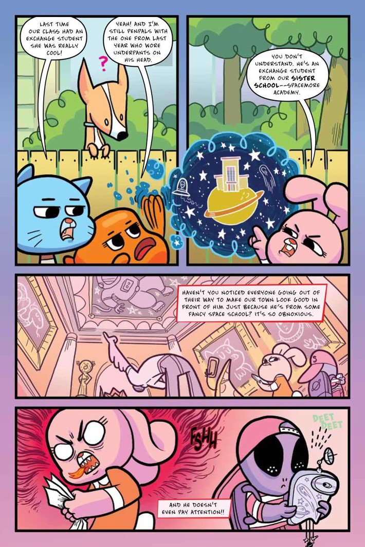 Gumball_OGN_v4_ScrimmageScramble_PRESS_16 ComicList Previews: THE AMAZING WORLD OF GUMBALL VOLUME 4 SCRIMMAGE SCRAMBLE GN