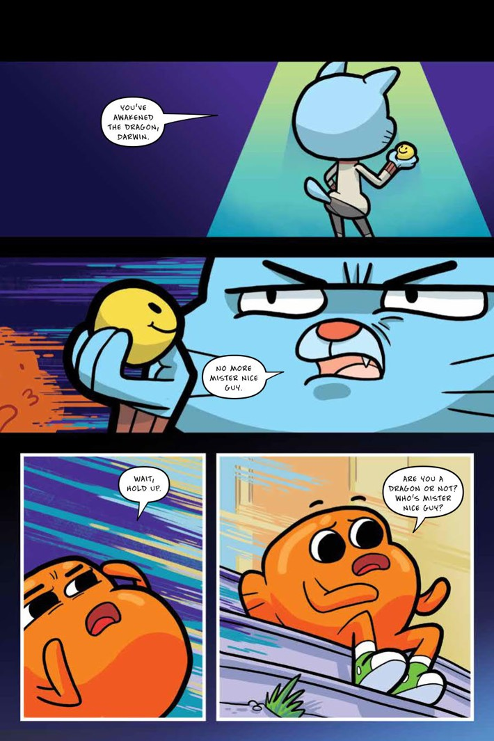 Gumball_OGN_v4_ScrimmageScramble_PRESS_7 ComicList Previews: THE AMAZING WORLD OF GUMBALL VOLUME 4 SCRIMMAGE SCRAMBLE GN
