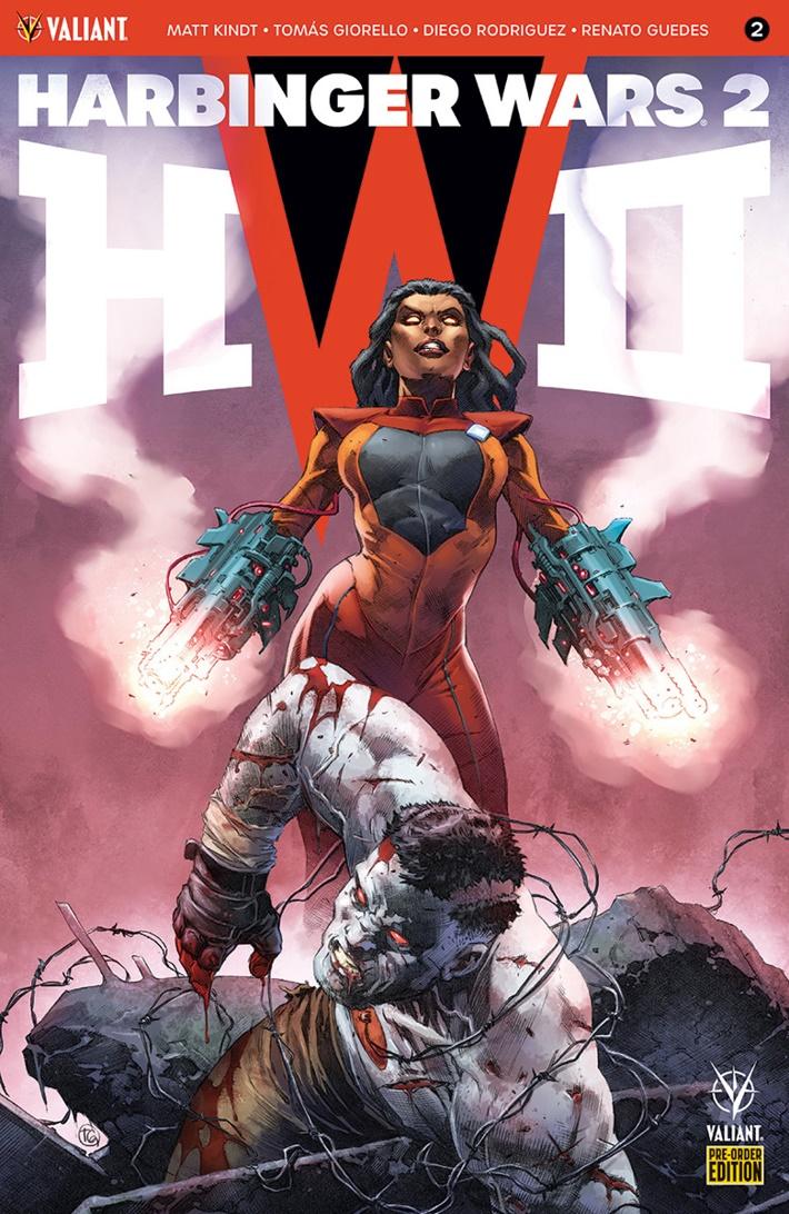 HW2_002_PRE-ORDER_GIORELLO ComicList: Valiant Entertainment New Releases for 06/27/2018