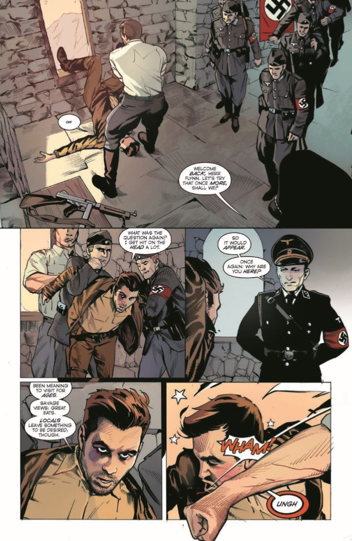 HalfPastDanger_v2_TPB-pr-4 ComicList Previews: HALF PAST DANGER DEAD TO REICHS HC
