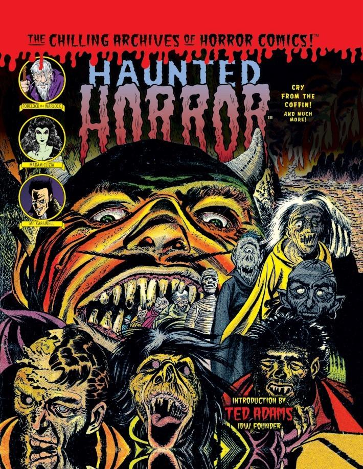 Haunted_Horror_Volume07-PR-1 ComicList Previews: HAUNTED HORROR VOLUME 7 CRY FROM THE COFFIN HC