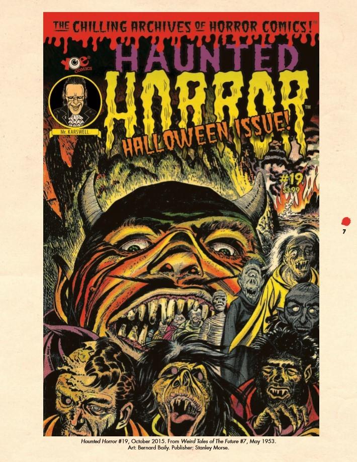 Haunted_Horror_Volume07-PR-4 ComicList Previews: HAUNTED HORROR VOLUME 7 CRY FROM THE COFFIN HC