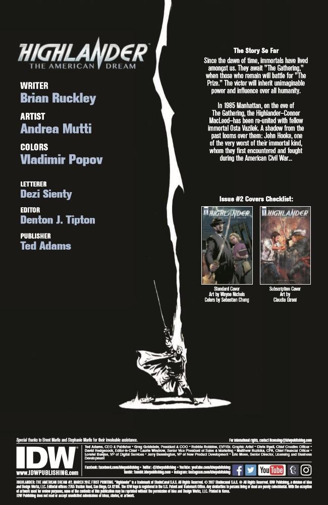 Highlander_AmericanDream_02-pr-2 ComicList Preview: HIGHLANDER THE AMERICAN DREAM #2