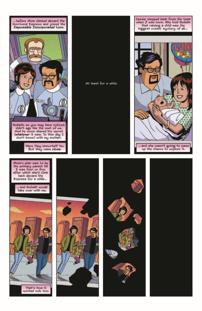 Impossible_Inc_04-pr-4 ComicList Previews: IMPOSSIBLE INCORPORATED #4