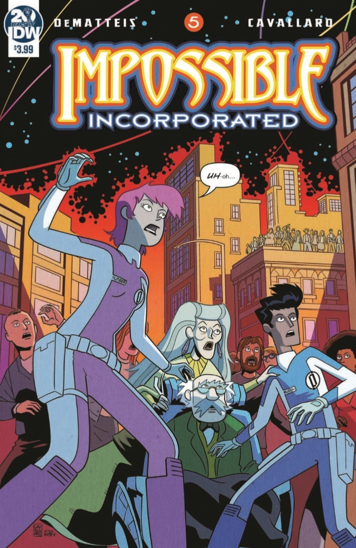 Impossible_Inc_05-pr-1 ComicList Previews: IMPOSSIBLE INCORPORATED #5
