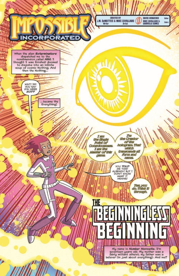Impossible_Inc_05-pr-3 ComicList Previews: IMPOSSIBLE INCORPORATED #5