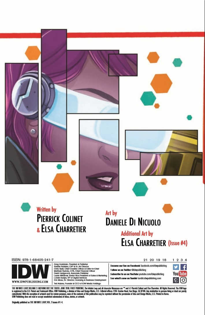 InfiniteLoop_v2_NothingButTheTruth-pr-2 ComicList Previews: THE INFINITE LOOP VOLUME 2 NOTHING BUT THE TRUTH TP