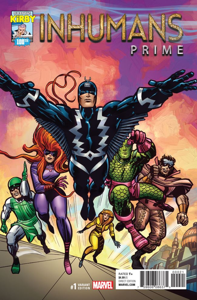 Inhumans_Prime_1_Kirby_100th_Variant ComicList Preview: INHUMANS PRIME #1