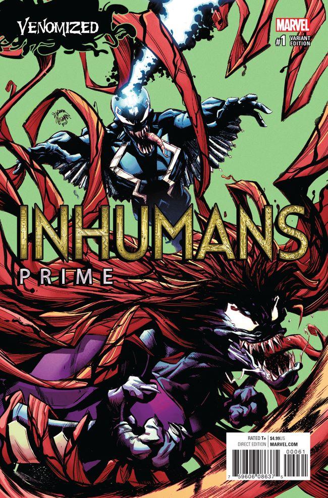 Inhumans_Prime_1_Stegman_Venomized_Variant ComicList Preview: INHUMANS PRIME #1