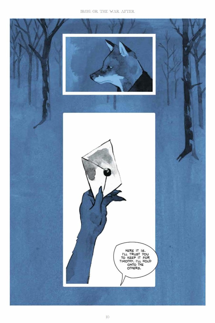 IronOrTheWarAfter_HC_PRESS_10 ComicList Previews: IRON OR THE WAR AFTER GN