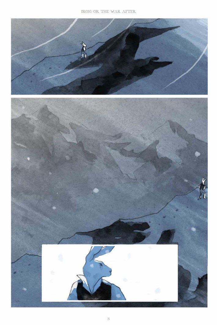 IronOrTheWarAfter_HC_PRESS_5 ComicList Previews: IRON OR THE WAR AFTER GN