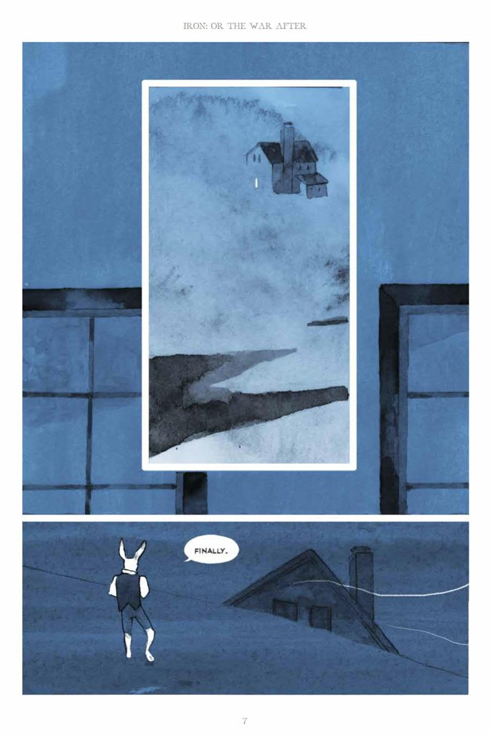 IronOrTheWarAfter_HC_PRESS_7 ComicList Previews: IRON OR THE WAR AFTER GN