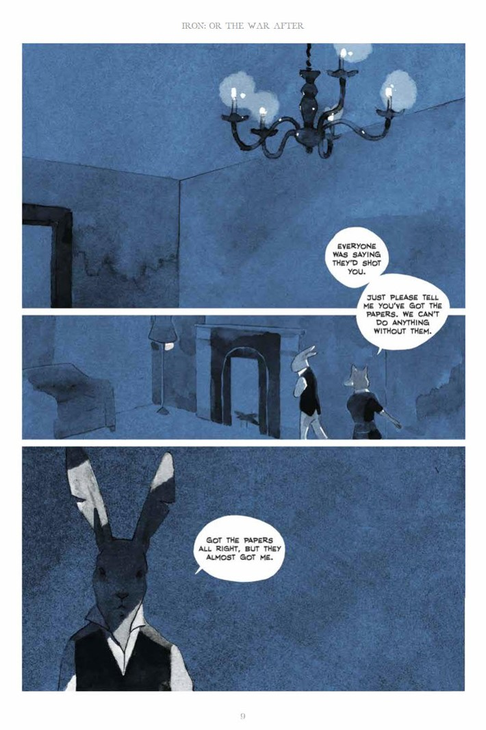 IronOrTheWarAfter_HC_PRESS_9 ComicList Previews: IRON OR THE WAR AFTER GN