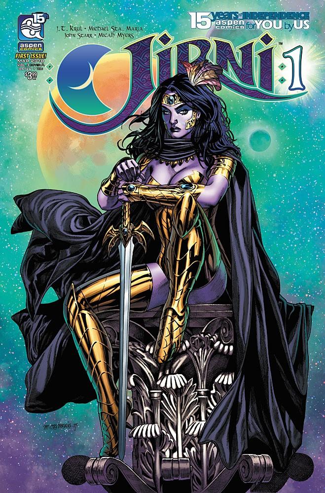 JIRNI-v3-01a-STAmaria_1 ComicList Previews: JIRNI VOLUME 3 #1