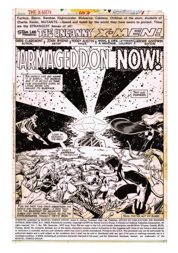 Jogn_Byrne_XMen_ArtifactEdition-pr-3 ComicList Previews: JOHN BYRNE'S X-MEN ARTIFACT EDITION HC