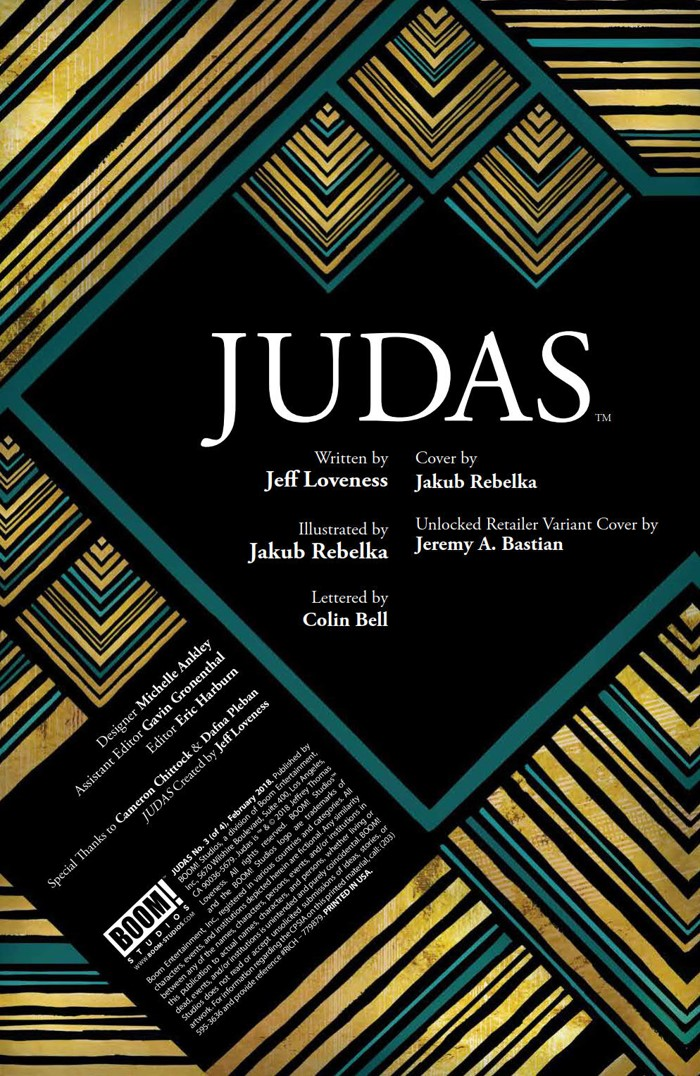 Judas_003_PRESS_2 ComicList Previews: JUDAS #3