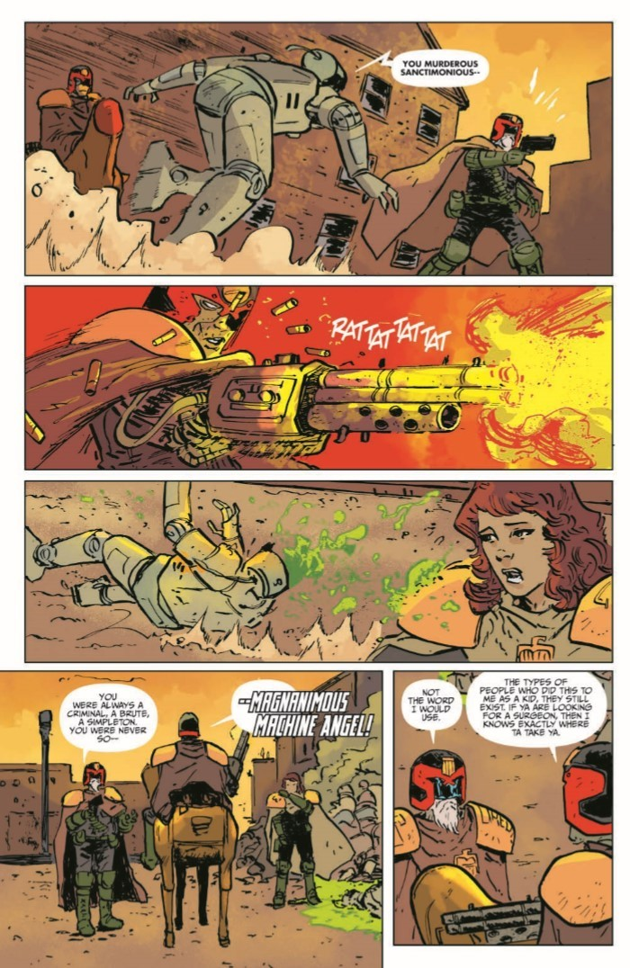 JudgeDredd_BlessedEarth_v2-pr-7 ComicList Previews: JUDGE DREDD THE BLESSED EARTH VOLUME 2 TP