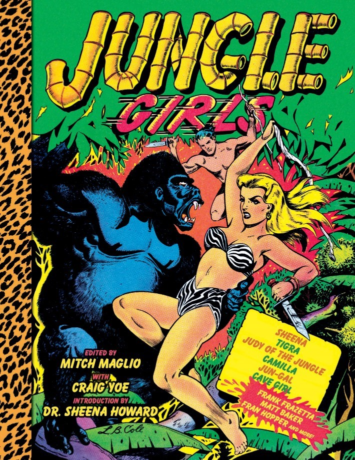 Jungle_Girls-pr-1 ComicList: IDW Publishing New Releases for 02/13/2019