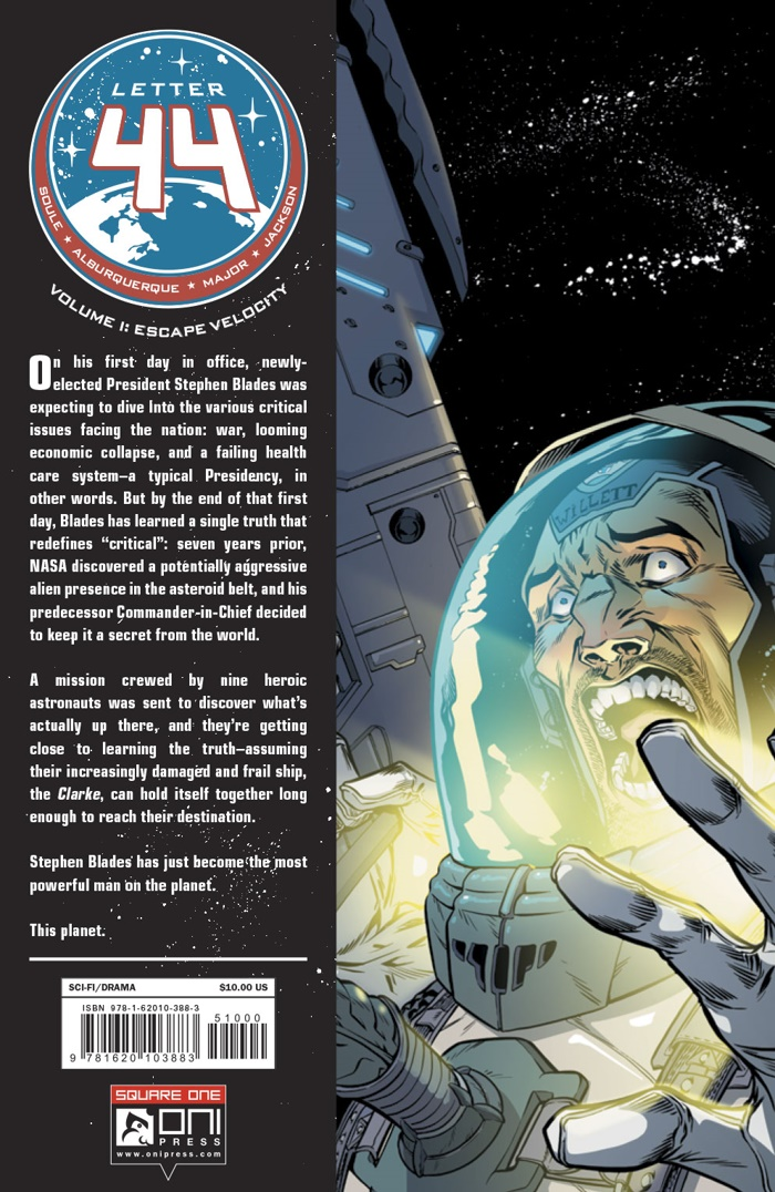 LETTER44-V1-$10-TPB-MARKETING_Preview-10 ComicList Preview: LETTER 44 VOLUME 1 ESCAPE VELOCITY TP (SQUARE ONE EDITION)